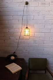 cord lighting. Pendant Light Cord - Inline Switch And Wall Plug With Round Cage Shade Fa2893c9-5562 Lighting