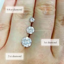How Big Is A One Carat Diamond Ring Taylor Harts Blog