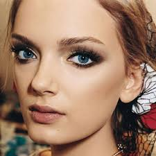the key to making eyes glisten with gold choose a shimmery shade and don t