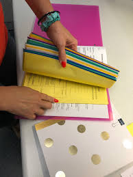 sheet protector book color coordinate documents with colored edge sheet protectors c