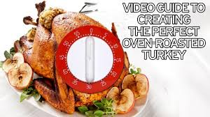 How long does roast turkey take to cook? Christmas dinner timing ...