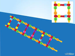 make a model of dna using common materials