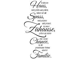 Wandtattoo In Diesem Haus Ist Die Heimat Unserer Familie