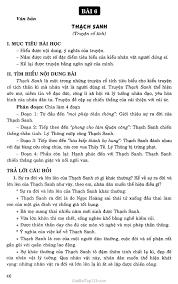 Soạn bài Thạch Sanh (Truyện cổ tích)