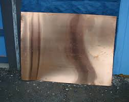 16 gauge copper sheet copper sheet etsy