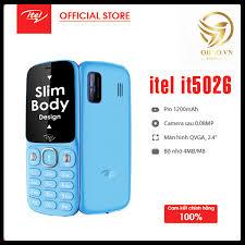 Review điện thoại cho người già nghe gọi itel it5026 5026 điện thoại pin  trâu bàn phím to - ohno việt nam