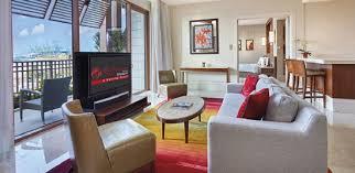 Equarius hotela deluxe room Swimming Pool Deluxe Suite Resorts World Sentosa Room Types Equarius Hotel Resorts World Sentosa Singapore
