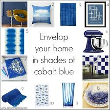 Blue Rooms  Decorating With BlueCobalt Blue Home Decor