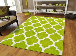 luxury two colors green and white morrocan trellis area rugs for living room 5x7 green and white area rug morrocan trellis with lines for bedroom and dining