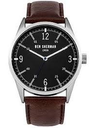 men s watches watches for men house of fraser ben sherman men`s strap watch