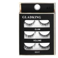 gladking philippines new 3d 3 pairs eye lashes x01