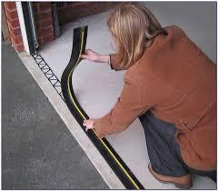 garage door floor seal nz home decorating ideas how to install garage door seal on the