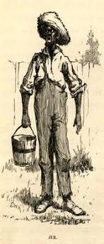 dyehuckfinnth tate huck finn and racism huck finn jpg even aunt sally a caring w is not affected or saddened in the least by an african american s death he demonstrates that racism can