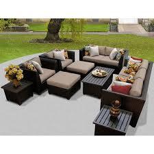 barbados 12 piece outdoor wicker patio furniture set 12d free