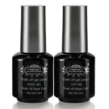 Buy Nail Art Top Coat Topcoat + Primer Base Coat UV Gel Polish ...