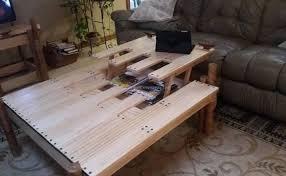 Unique Pallet Table Idea Furniture Projects