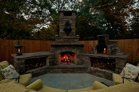 custom outdoor fireplaces. awesome outside fireplaces on enjoy your outdoor living area with an fireplace in raleigh custom l