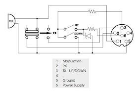 Cobra Power Mic Wiring Diagram 4 Pin CB Mic Wiring Diagram