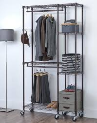free standing clothes rack. Free Standing Clothes Rack Wonderful Freestanding Clothing Regarding Inspire Laundry For Low . T