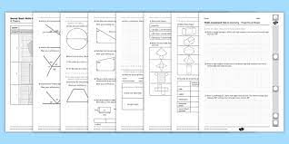 Practice really helps, both in terms of the types of sats reasoning questions that can come up, and in the skills needed to answer them. Year 6 Maths Assessment Geometry Term 1 Shape