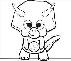 Small Picture Baby dinosaur coloring page ba dinosaur coloring pages clipart