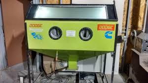 the best homemade tool every needs diy abrasive blasting cabinet