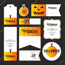 Collection Of Halloween Journaling Cards Notes Stickers Labels