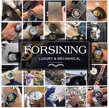 <b>Forsining</b> Blue Ocean Design Silver Steel 3 Dial Calendar Display ...