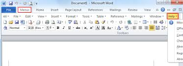 microsoft word menus where is the help button in microsoft word 2007 2010 2013 and 2016