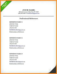 template for professional references resume professional references on resume employment template and