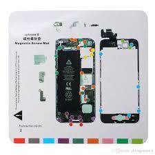 Iphone 6 Screw Size Chart Magnetic Screw Chart Mat Magnetic Lcd Screen Tepair Tool For Iphone 5 5s 6 6plus 6s 6splus Cell Phone Repair Las Vegas Cell Phone Repair Shops From