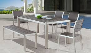 aluminum dining room chairs. Zuo Metropolitan Dining Room Set In Brushed Aluminum. Click To Zoom Aluminum Chairs 0
