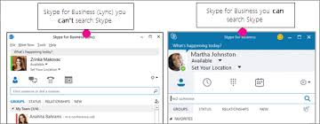 Search For People In Skype For Business Skype For Business