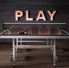 game room lighting ideas. killerspin jet600 table tennis paddle game room lighting ideas