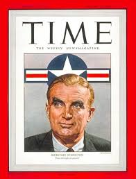 TIME Magazine Cover: W. Stuart Symington - Jan. 19, 1948 - Air Force -  Military