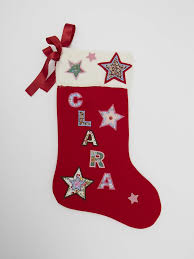 christmas stockings with names. Brilliant With Luxury Personalised Handmade Christmas Stocking Gift  NameClara In Stockings With Names A
