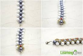 create the second right angle weave pattern
