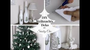 4 Diy Weihnachtsdekorationen Im Shabby Chic Landhaus Stil