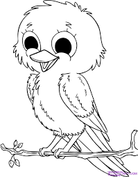 Small Picture Printable Coloring Pages Bird Coloring Pages