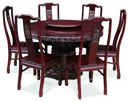 round dining table set rosewood dragon design round dining table with 6 chairs hi res wallpaper