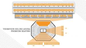 Tennessee Fund Basketball Loge Seats