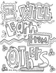 Free Coloring Page Growth Mindset Feelings 2 Growth Mindset