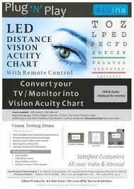 Dot Eye Chart Led Eye Vision Chart Led Vision Chart By Soni Group Of