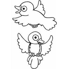 Small Picture Birds Free Coloring Sheets