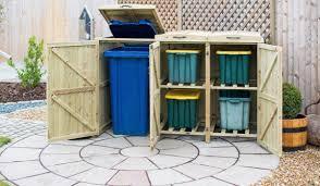 recycling bin storage. Interesting Bin Single Wheelie Bin And 4 Recycling Box Storage Intended I