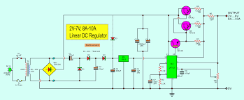 5v And 12v Power Supply Design 5v 5a Power Supply Circuit Electronic Circuit Projects