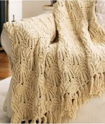 Knitted Afghan Patterns Cool Mary Maxim Free Lacy Afghan Knit Pattern