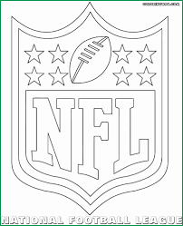 Nfl Football Coloring Pages Best Nfl Logos Coloring Pages Coloring
