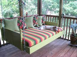 Porch Bed Swing Round Plans Living Room