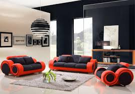 Living Room With Red Furniture Black Red And White Living Room Ideas Living Room Design Ideas